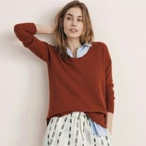 MADEWELL Chronicle Texture Pullover Sweater {V54}